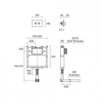 ROGERSEL60115 160302 Rogerseller Cisterns / Inwall Toilets Spec sheet