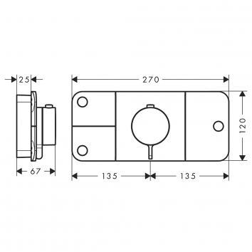 SKU000001 45713000 Hansgrohe Mixers Tapware Spec sheet