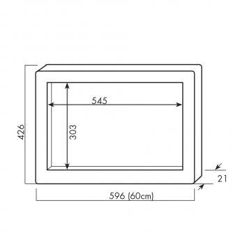 SMEG1061 MTK60X34 Smeg Accessories Microwaves Spec sheet