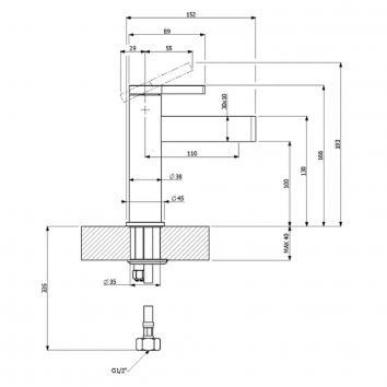 V&B81300  TVQ10610350161 Villeroy & Boch Mixers Tapware Spec sheet