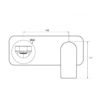 V&B80315 TVW10412XB Villeroy & Boch Mixers Tapware Spec sheet