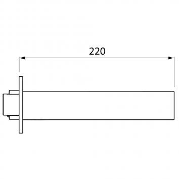 V&B81325 TVW10612161B Villeroy & Boch Outlets Tapware Spec sheet