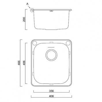 ABEY14950 AL100A Abey  Tubs & Cabinets Spec sheet