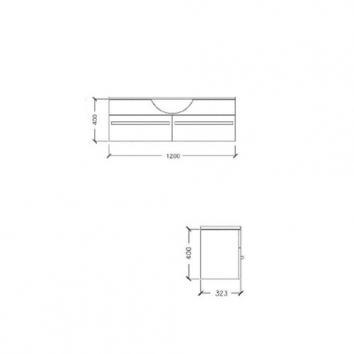 ARGENT4915 Z20SW1201SB Argent Wall Hung Vanities Furniture Spec sheet
