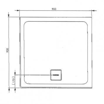 DECINA4159 SB900RR Decina Baths Shower Enclosures Showers Spec sheet