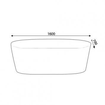 KALDEWEI5961 02-812 Kaldewei Freestanding Baths Spec sheet