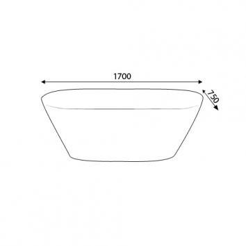 KALDEWEI5967 02-830 Kaldewei Freestanding Baths Spec sheet