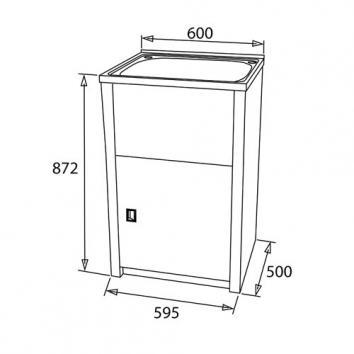 NEKO5200 NL5200 Neko  Tubs & Cabinets Spec sheet