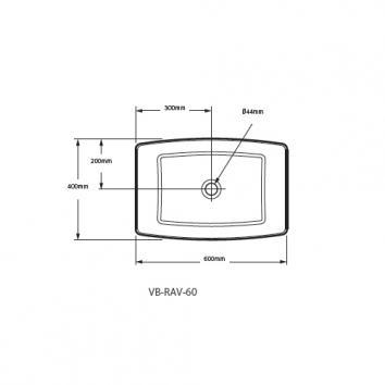 VICTORIA0810 VB-RAV-60 Victoria + Albert Above Counter / Vessel Basins Spec sheet